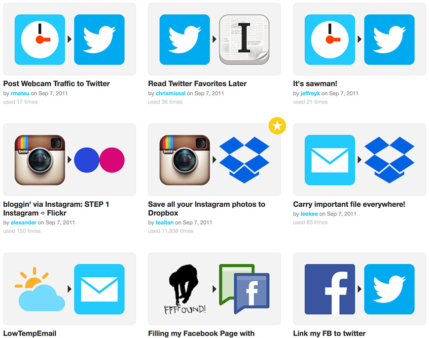 ifttt-suggestions